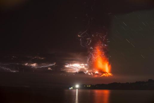Photos The Calbuco volcano