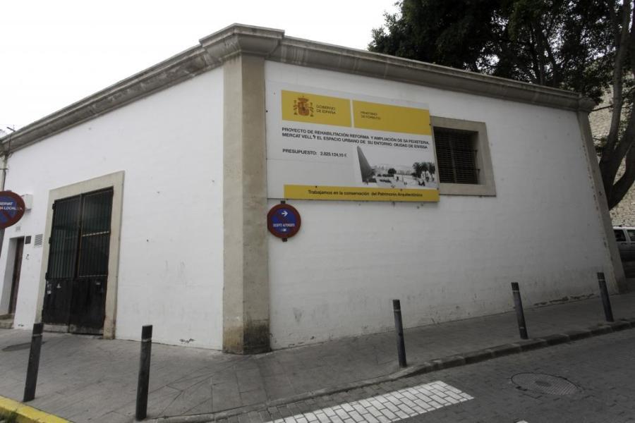 Vila reanuda la reforma del Mercat Vell y sa Peixateria ...
