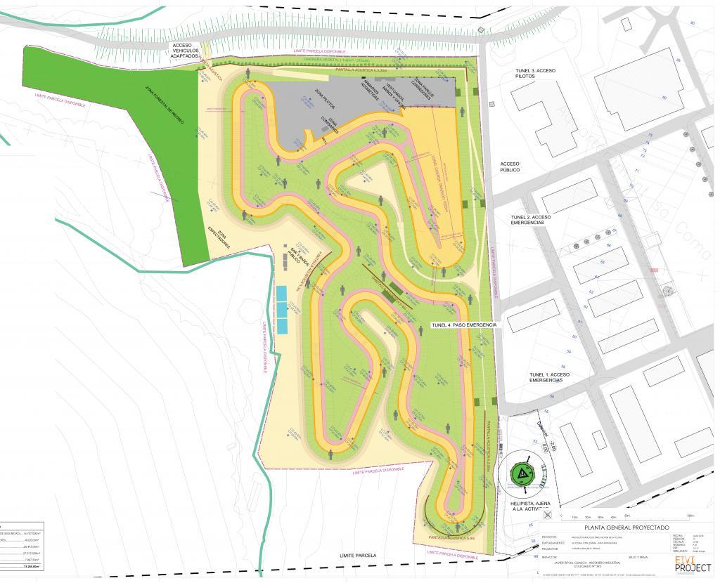 Circuito Y Servicios : El consell proyecta un circuito en el parque de servicios de sa coma