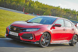 Honda anuncia su desafío Civic Type R Time Attack 2018