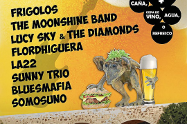 Este domingo regresa a Santa Eulària el 'Rock'n'Bars'